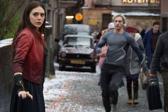 Avengers Age of Ultron Scarlet Witch and Quicksilver Video
