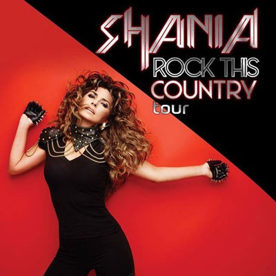 Shania Twain Rock This Country Tour Dates