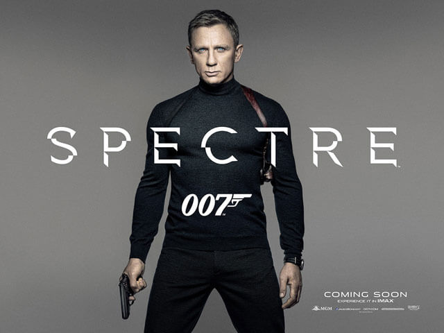 Spectre Teaser Poster with Daniel Craig