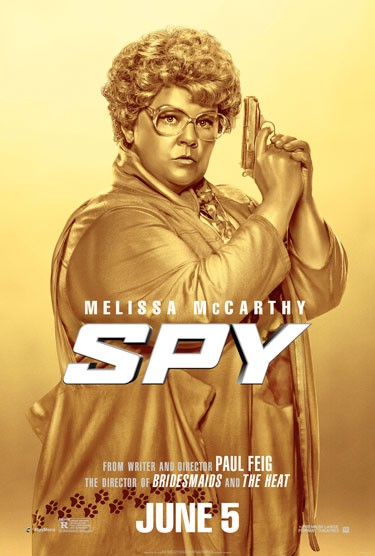 Spy Movie Trailer and New Poster