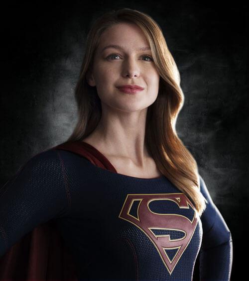 Melissa Benoist as Supergirl Photo