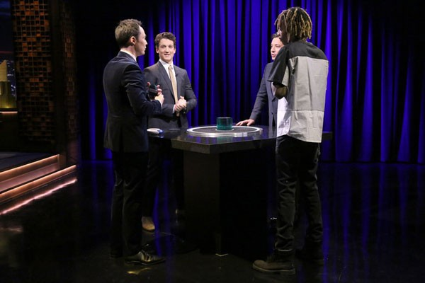 Jim Parsons, Miles Teller, Jimmy Fallon and Wiz Khalifa Play Catchphrase