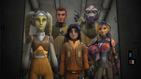 Star Wars Rebels Season 2 New Clip