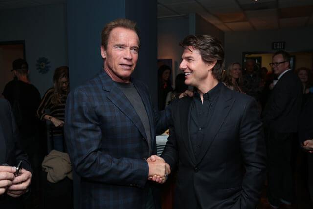 Arnold Schwarzenegger and Tom Cruise Headline Paramount's CinemaCon Presentation