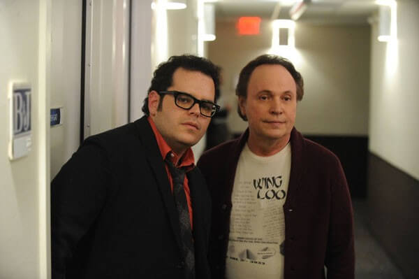 Josh Gad Interview on The Comedians