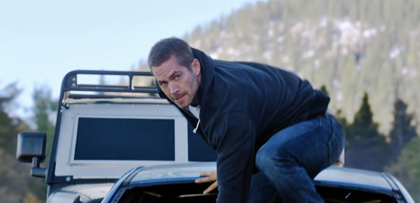 Furious 7 Paul Walker on Car