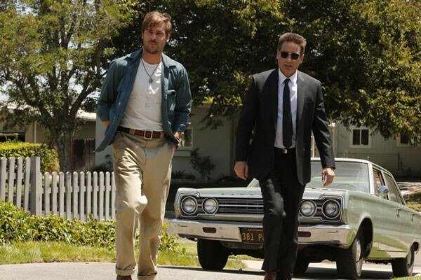 David Duchovny and Grey Damon in Aquarius