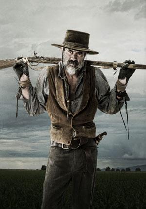"Jeffrey Dean Morgan as ""Deaf Smith"" in 'Texas Rising' (Photo by Kevin Lynch Copyright 2015)"