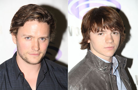 Jon Fletcher and Joel Courtney The Messengers Interview