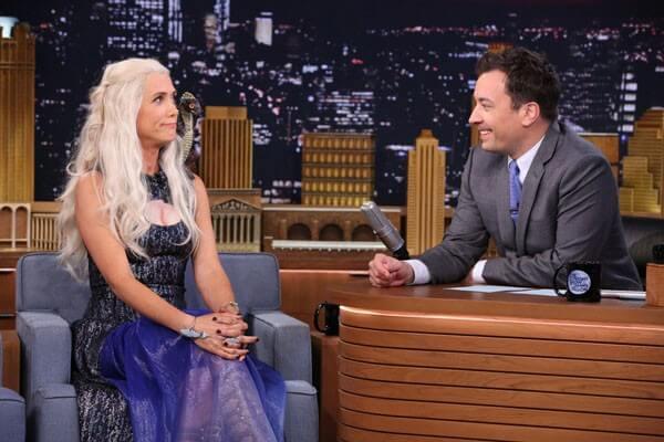 Jimmy Fallon Interviews Khaleesi