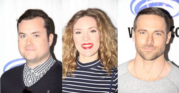 Orphan Black Season 3 Kristian Bruun, Evelyne Brochu, and Dylan Bruce Interview