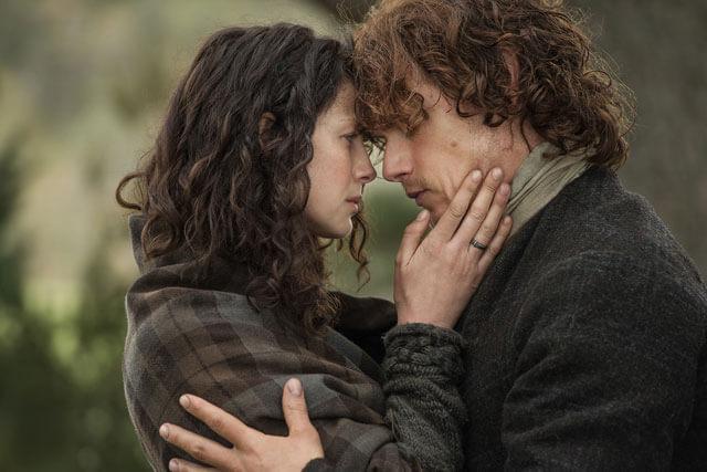 Outlander Photo - Caitriona Balfe and Sam Heughan