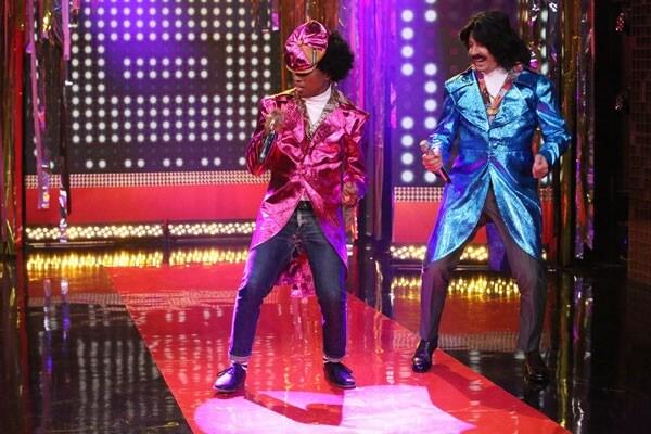 Pharrell and Jimmy Fallon '80s R&B Duo
