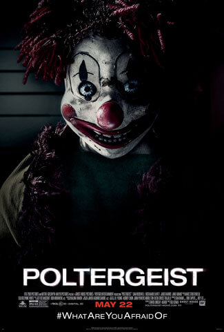 Poltergeist Clown Poster