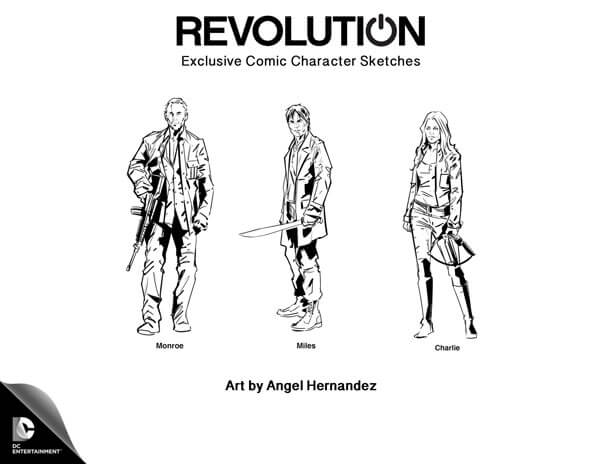 Revolution Character Sketches