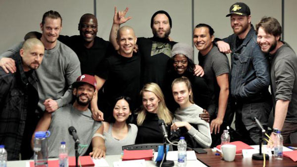 David Ayer Shares Suicide Squad Cast Photo
