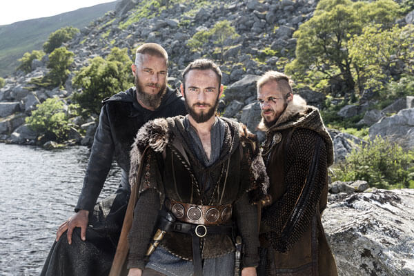 George Blagden Interview on Vikings, Athelstan, Floki, and Ragnar