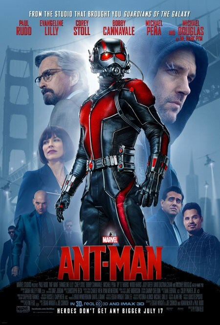 New Ant-Man Poster with Paul Rudd