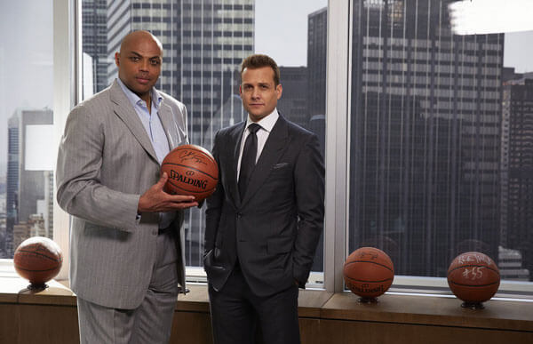 Charles Barkley Guest Stars in Suits