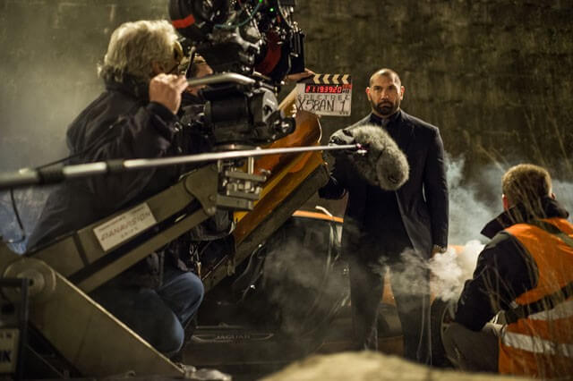Spectre Behind the Scenes Video with Dave Bautista