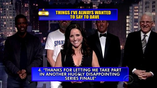 David Letterman's Finale Top 10 List