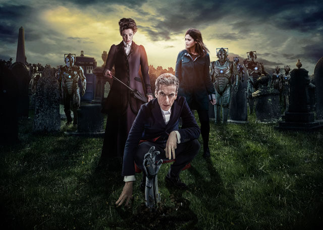 Doctor Who Peter Capaldi Jenna Coleman