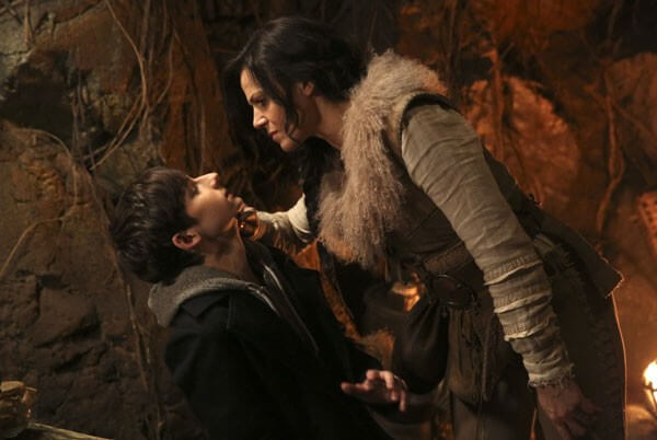 Once Upon a Time Jared Gilmore and Lana Parrilla