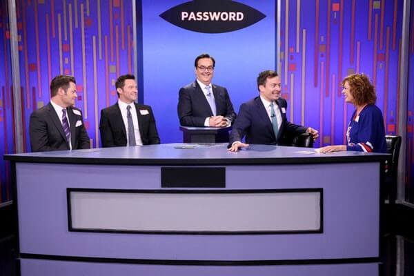Hugh Jackman, Nick Offerman Play Password