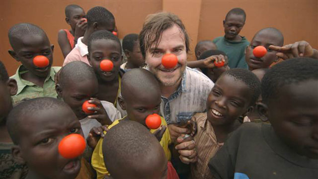 Jack Black and Richard Curtis Red Nose Day Interview
