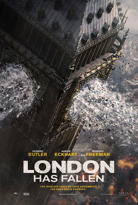 London Has Fallen Teser Poster