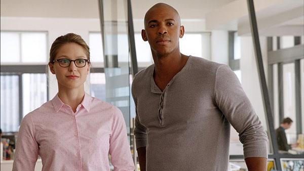 Melissa Benoist Mehcad Brooks Supergirl