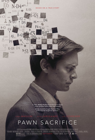 Pawn Sacrifice Trailer and Poster