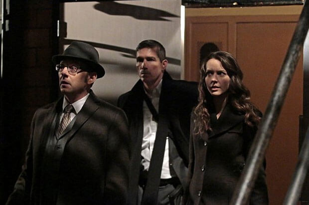 Person of Interest Michael Emerson, Jim Caviezel and Amy Acker
