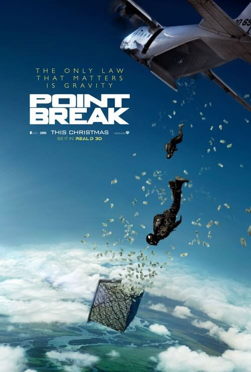 Point Break Movie Trailer and Poster