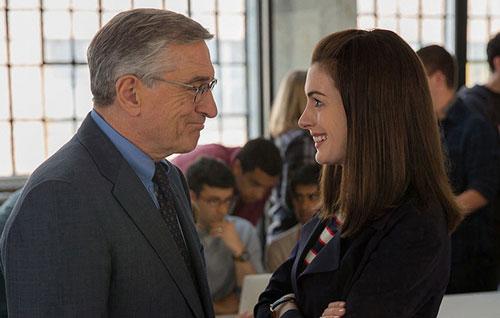 The Intern Trailer with Anne Hathaway, Robert De Niro