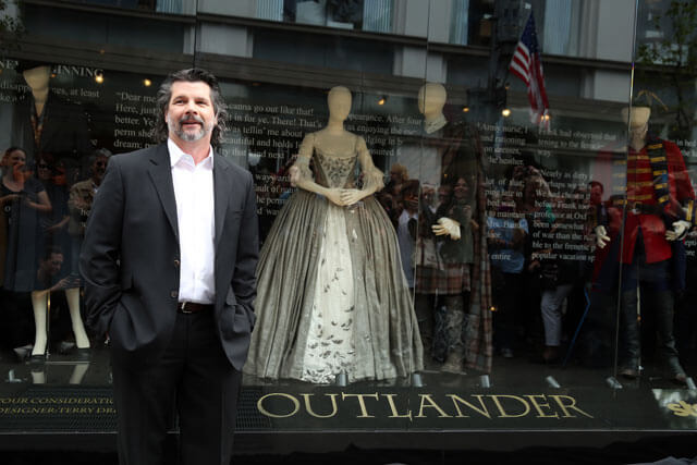 Ronald D Moore Outlander Costumes Display