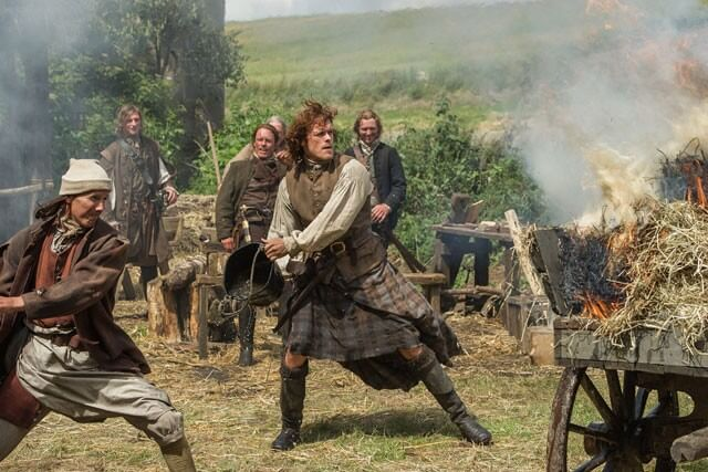 Outlander Sam Heughan season 1