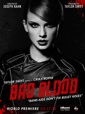 Taylor Swift Bad Blood Music Video