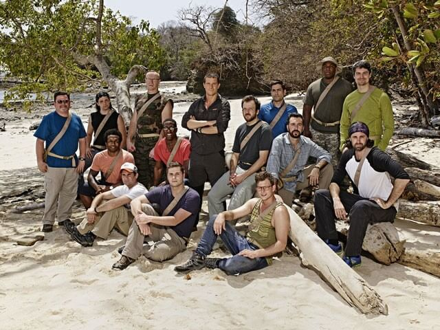 Bear Grylls and Holly Wofford The Island Interview