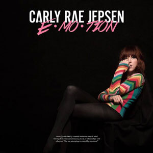 Carly Rae Jepsen EMOTION Album Cover