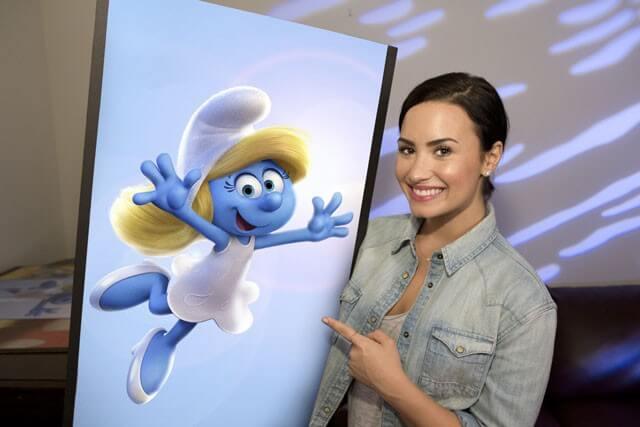 Demi Lovato, Rainn Wilson Star in 'Get Smurfy'