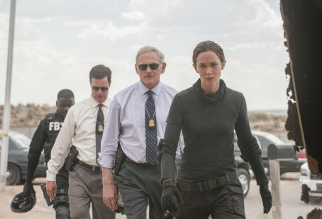 Sicario with Emily Blunt and Victor Garber
