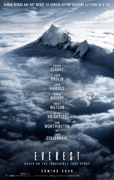 First Everest Movie Trailer and Poster
