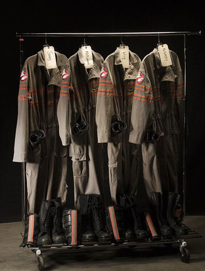 New Ghostbusters Costumes and Proton Pack