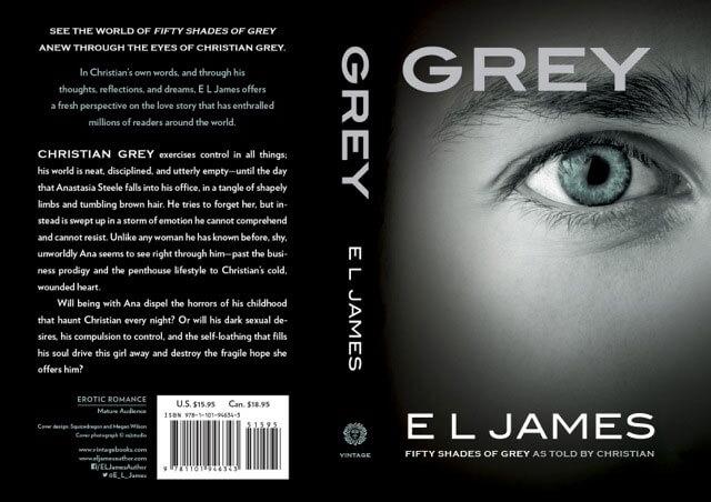 """Libros Y New Adult.: """"GREY"""" el nuevo libro de E L James"""