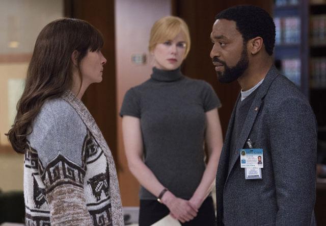 Julia Roberts, Nicole Kidman, Chiwetel Ejiofor in Secret In Their Eyes