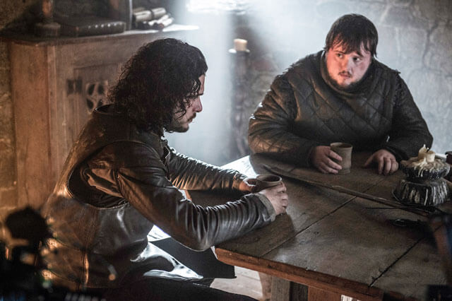 Game of Thrones Season 5 Kit Harrington John Bradley