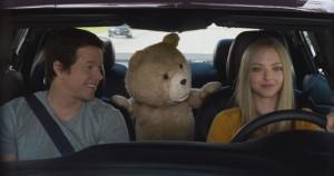 Ted 2 Mark Wahlberg and Amanda Seyfried