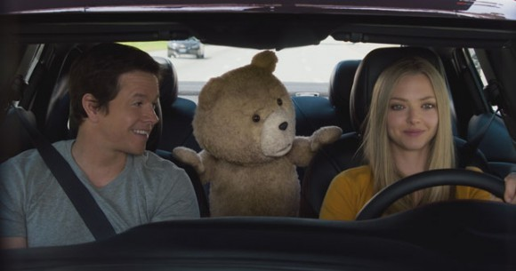 Ted 2 Mark Wahlberg and Amanda Seyfried