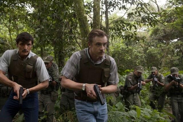 Narcos Season 2 Pedro Pascal and Boyd Holbrook